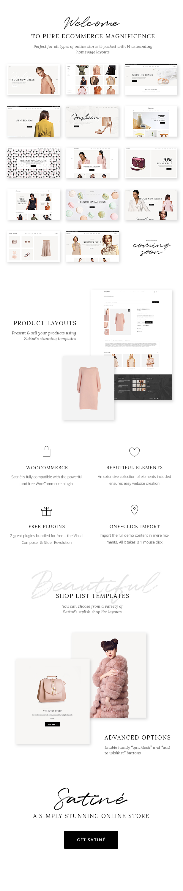 Satiné - Elegant Shop Theme - 1